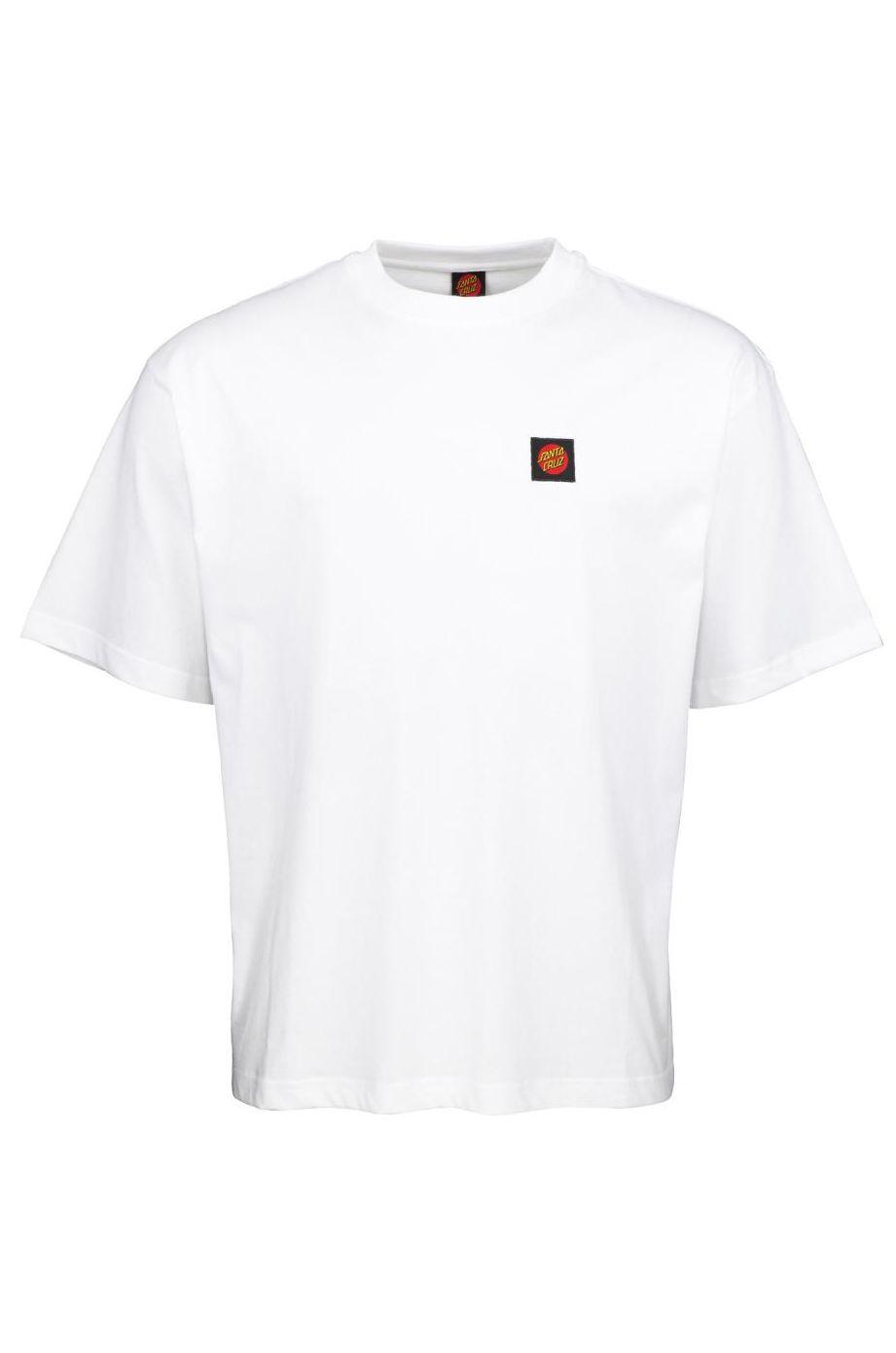 Santa Cruz T-Shirt CLASSIC LABEL White