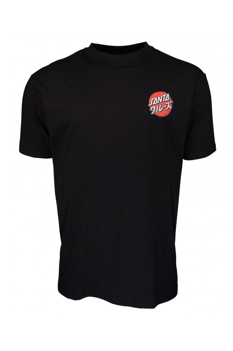 Santa Cruz T-Shirt MIXED UP DOT Black