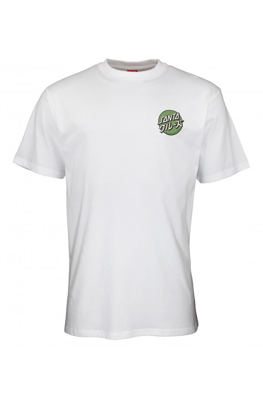 Santa Cruz T-Shirt MIXED UP DOT White