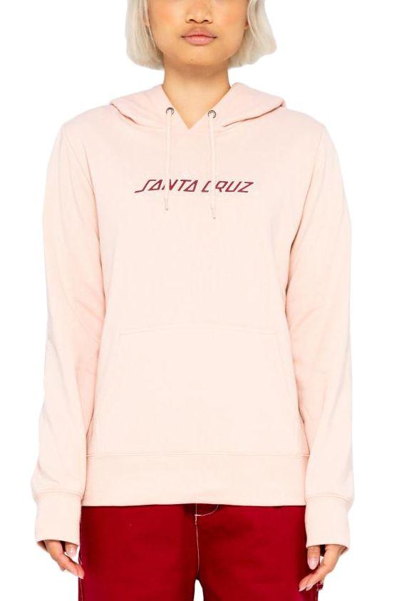 Sweat Capuz Santa Cruz MOONLIGHT VARIATION HOOD Chalk Pink