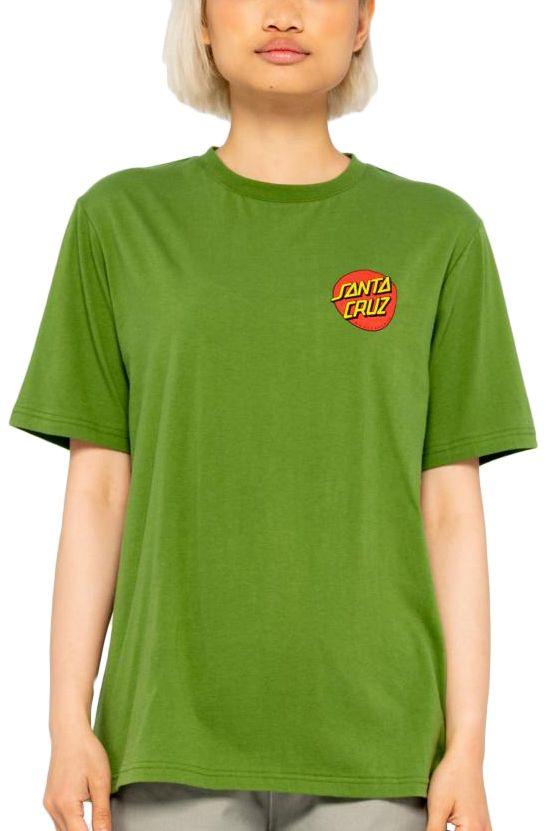 Santa Cruz T-Shirt CLASSIC DOT T-SHIRT Cactus