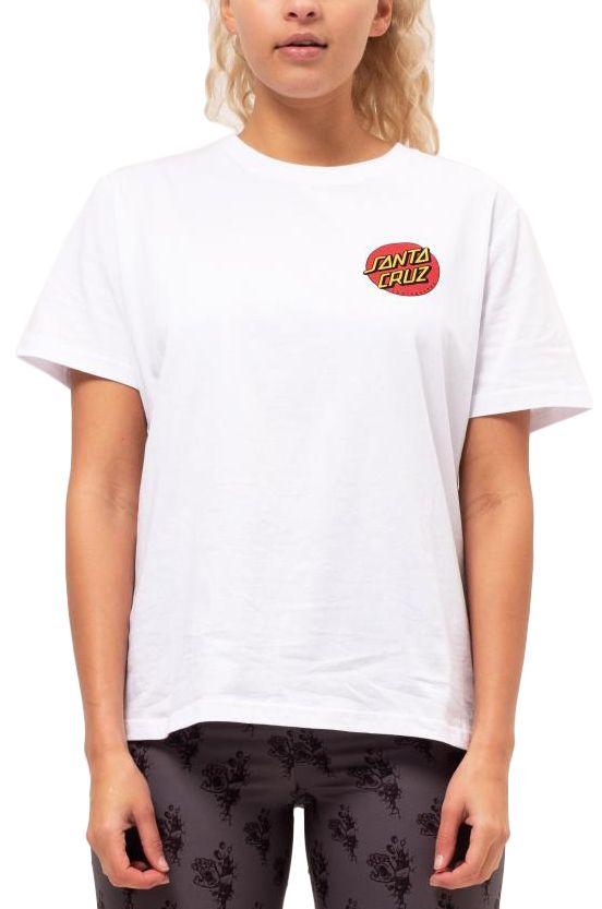 Santa Cruz T-Shirt CLASSIC DOT T-SHIRT White