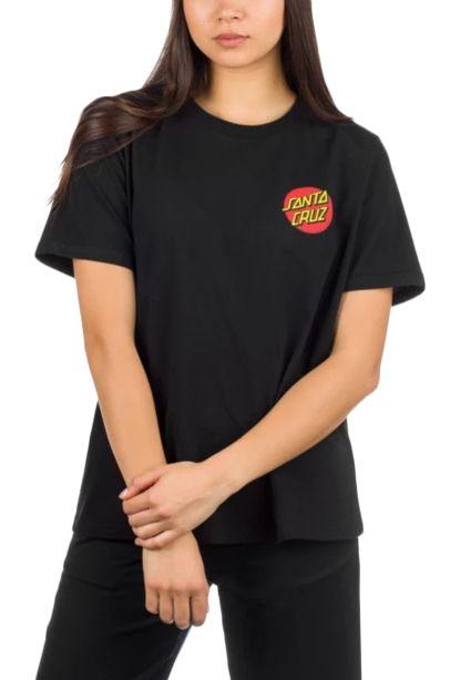 Santa Cruz T-Shirt CLASSIC DOT T-SHIRT Black