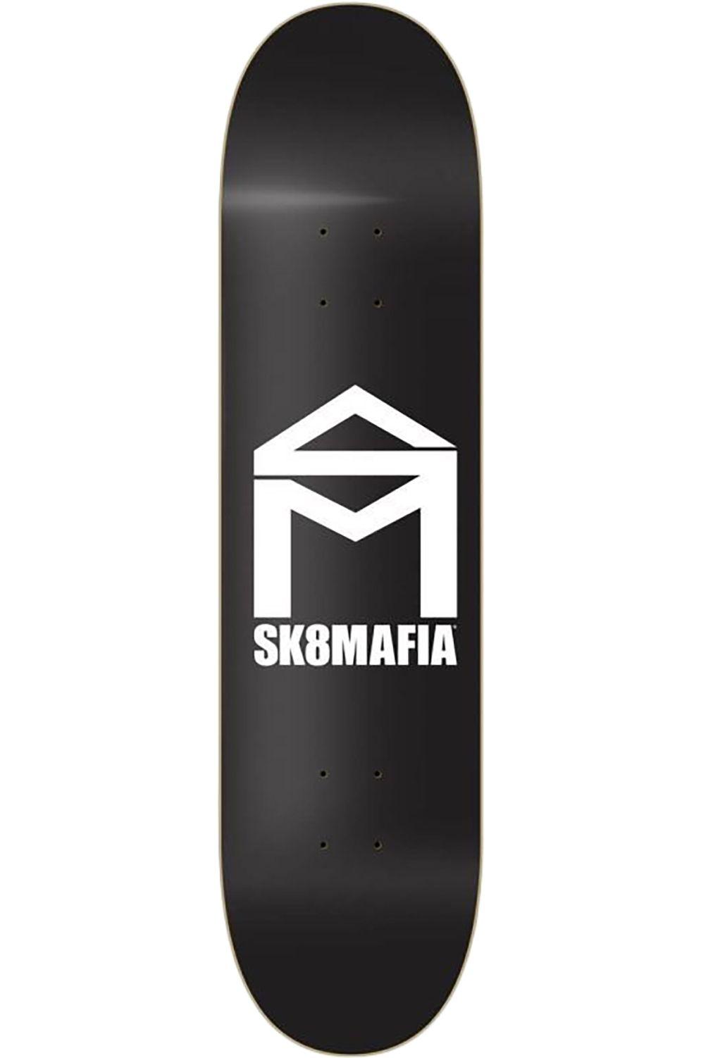 "Tabua Sk8Mafia 8.12"" HOUSE LOGO BLACK Black"