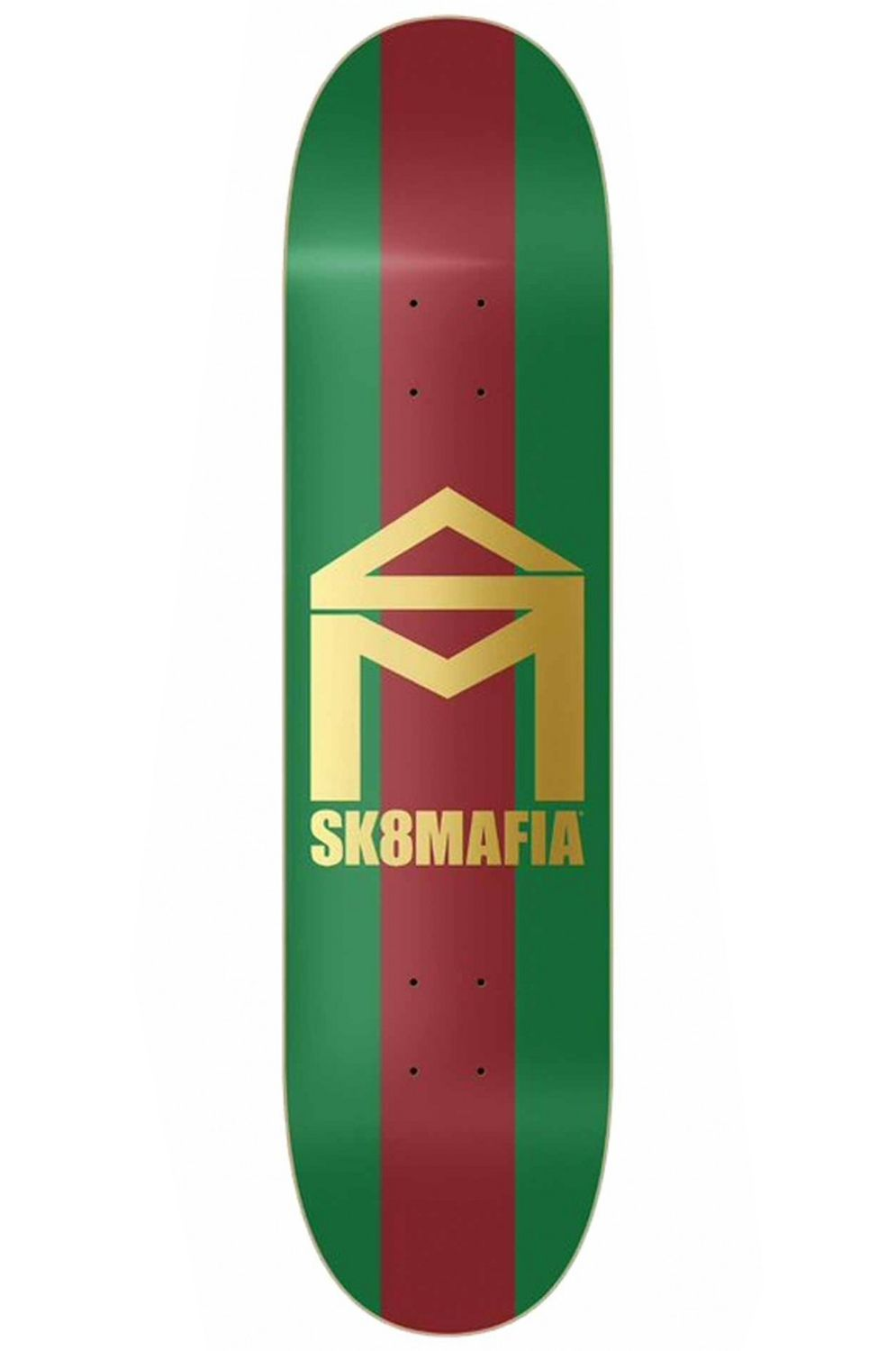 "Sk8Mafia Skate Board HOUSE LOGO GG 8.25"" X 32"" Assorted"