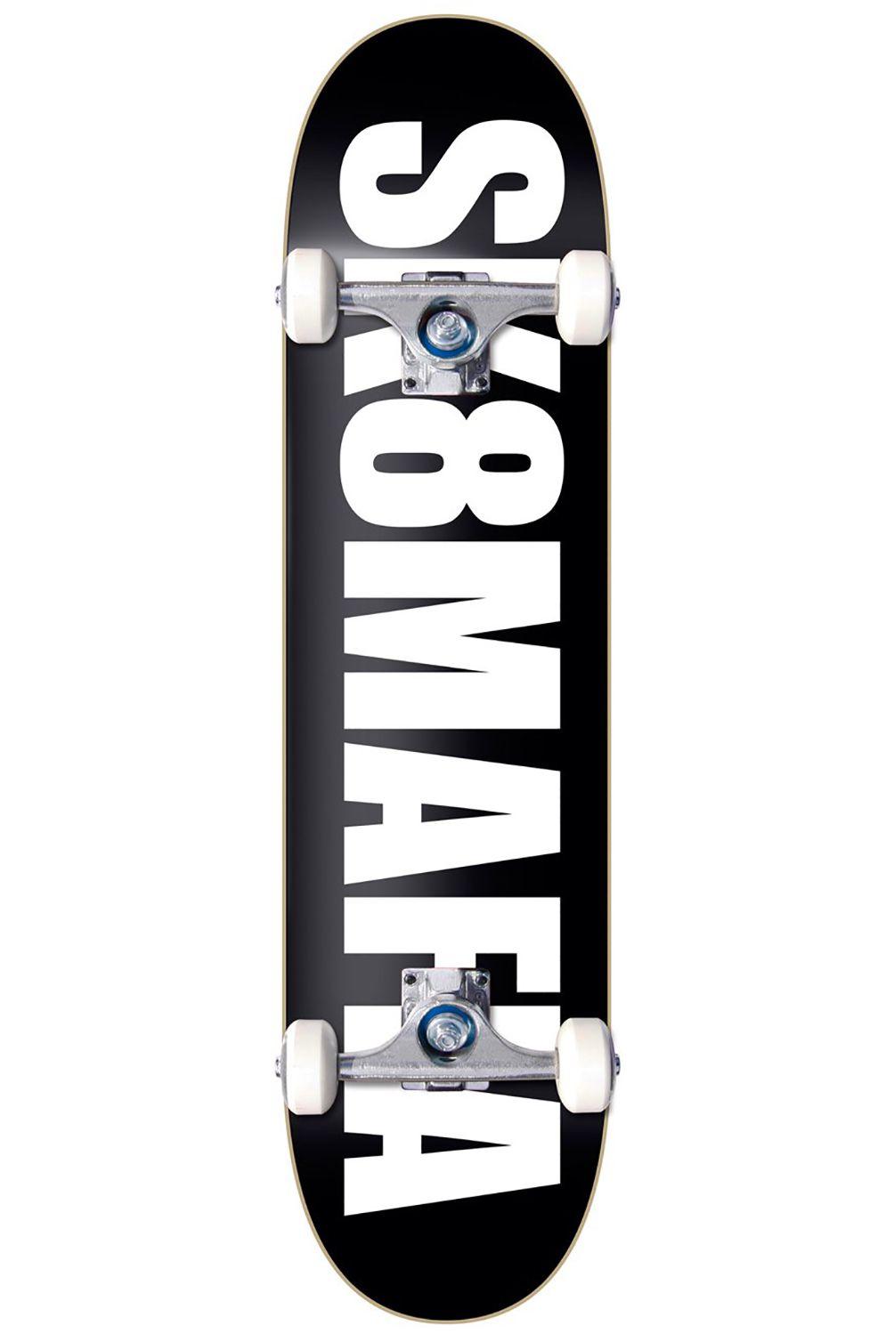 """Street Skate Sk8Mafia 7.75"""" OG LOGO Black"""