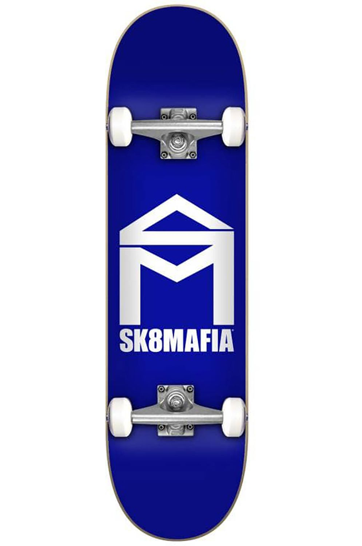 "Street Skate Sk8Mafia 7.87"" X 31.6"" HOUSE LOGO BLUE Blue"