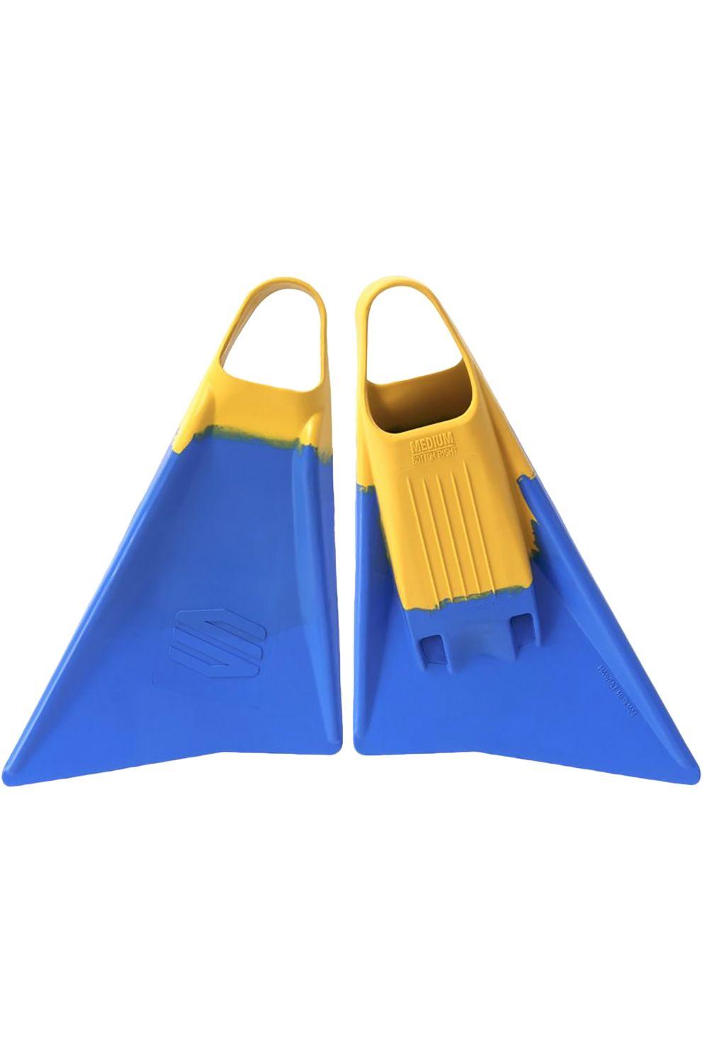 Sniper Bodyboard Fins SNIPER FINS Blue/Yellow