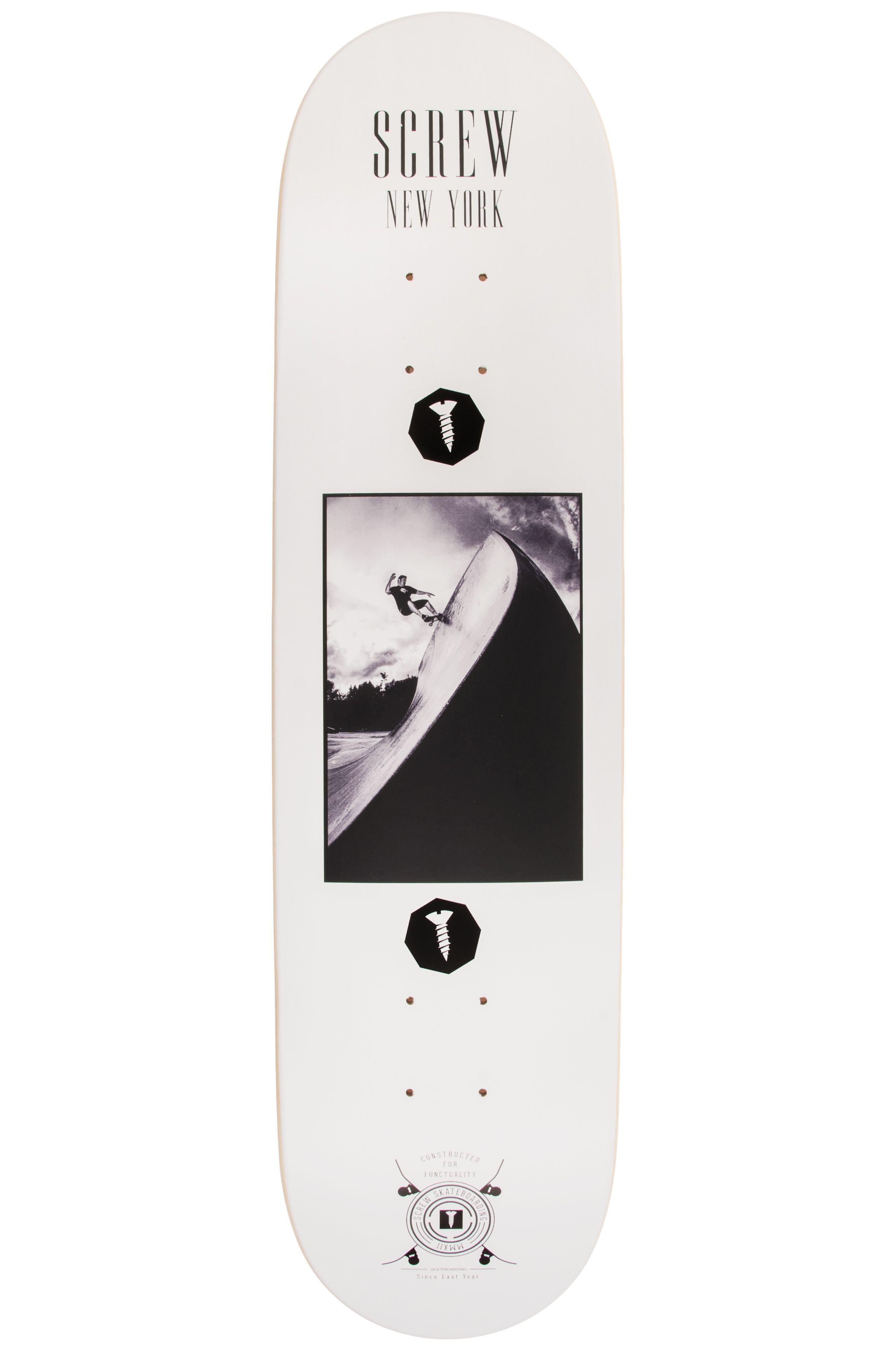 """Tabua Screw 8"""" COLOR LINE #21 003 NY White"""