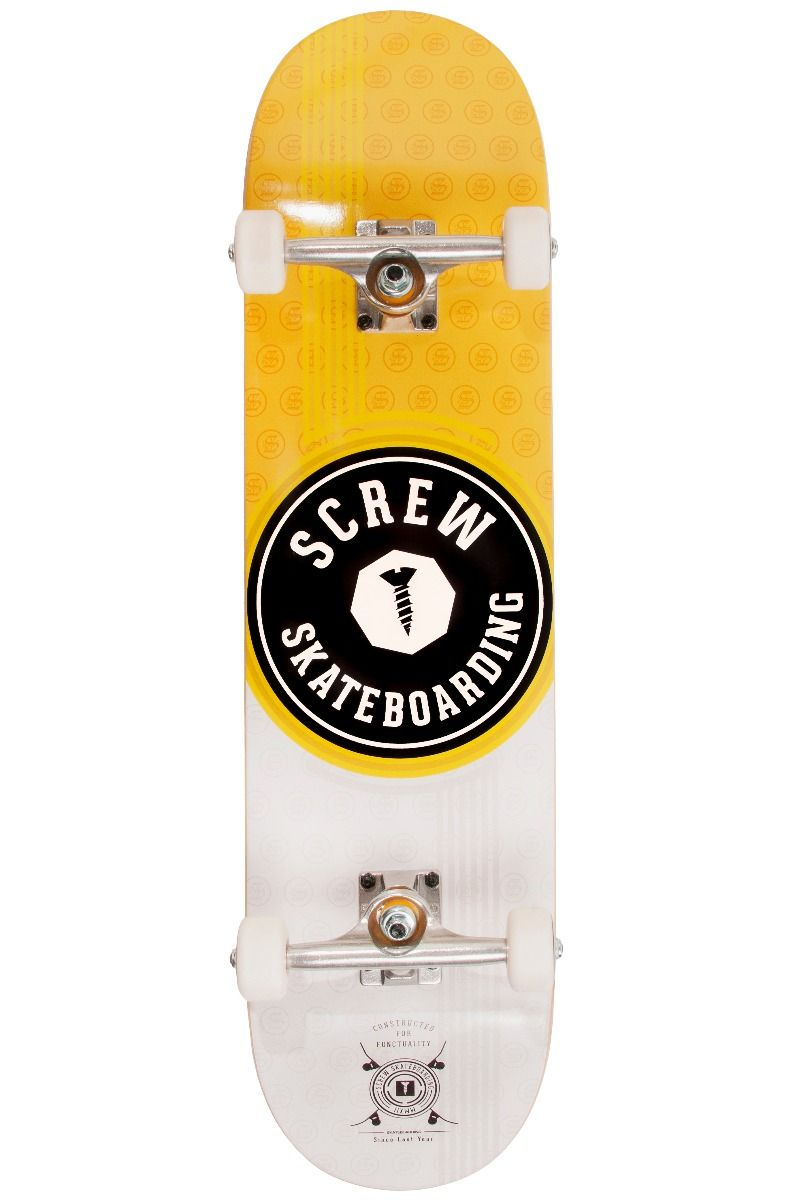 "Street Skate Screw 8"" COLOR LINE #21 007 Yellow"