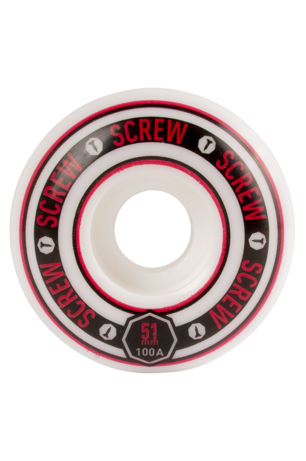 Rodas Screw COLOR LINE #21 51MM Red