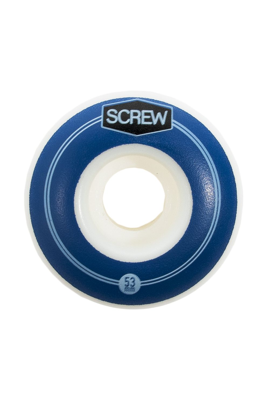 Screw Skate Wheels 53MM COLOR LINE #23 Blue