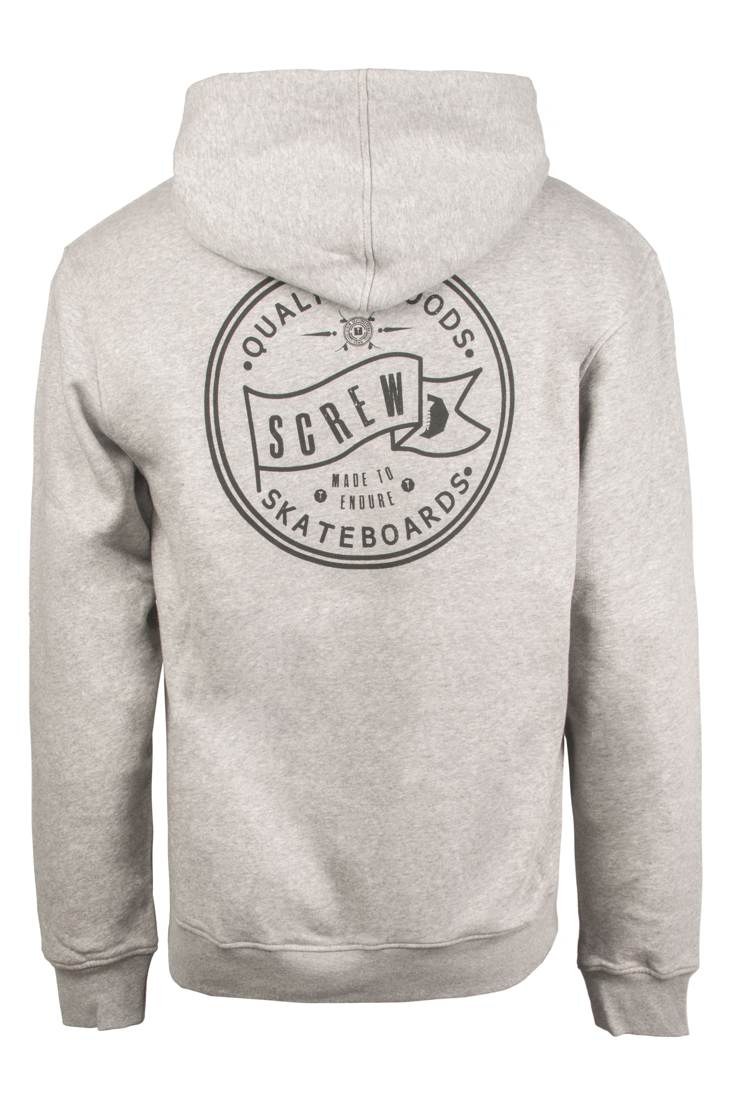 Sweat Capuz Screw SOUTH BANK Grey Heather
