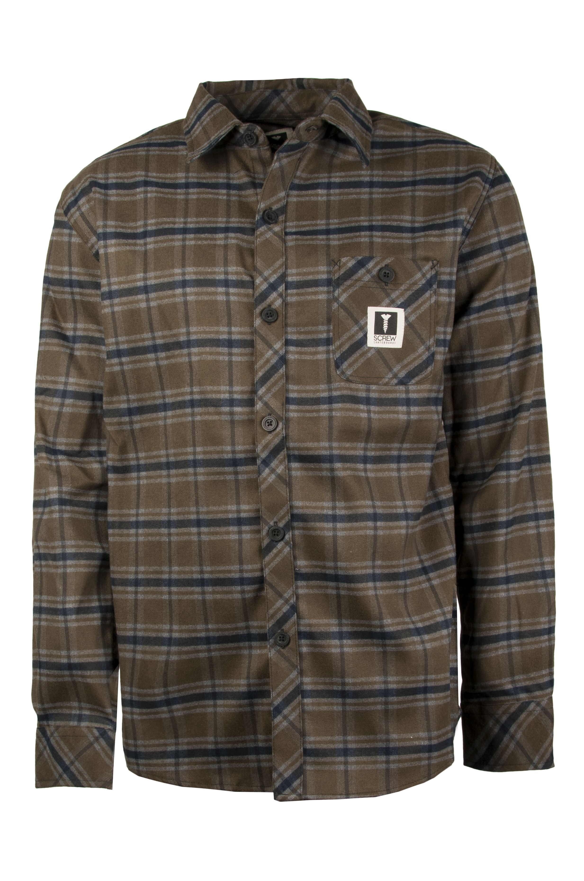 Screw Shirt CURBS?21 Olive