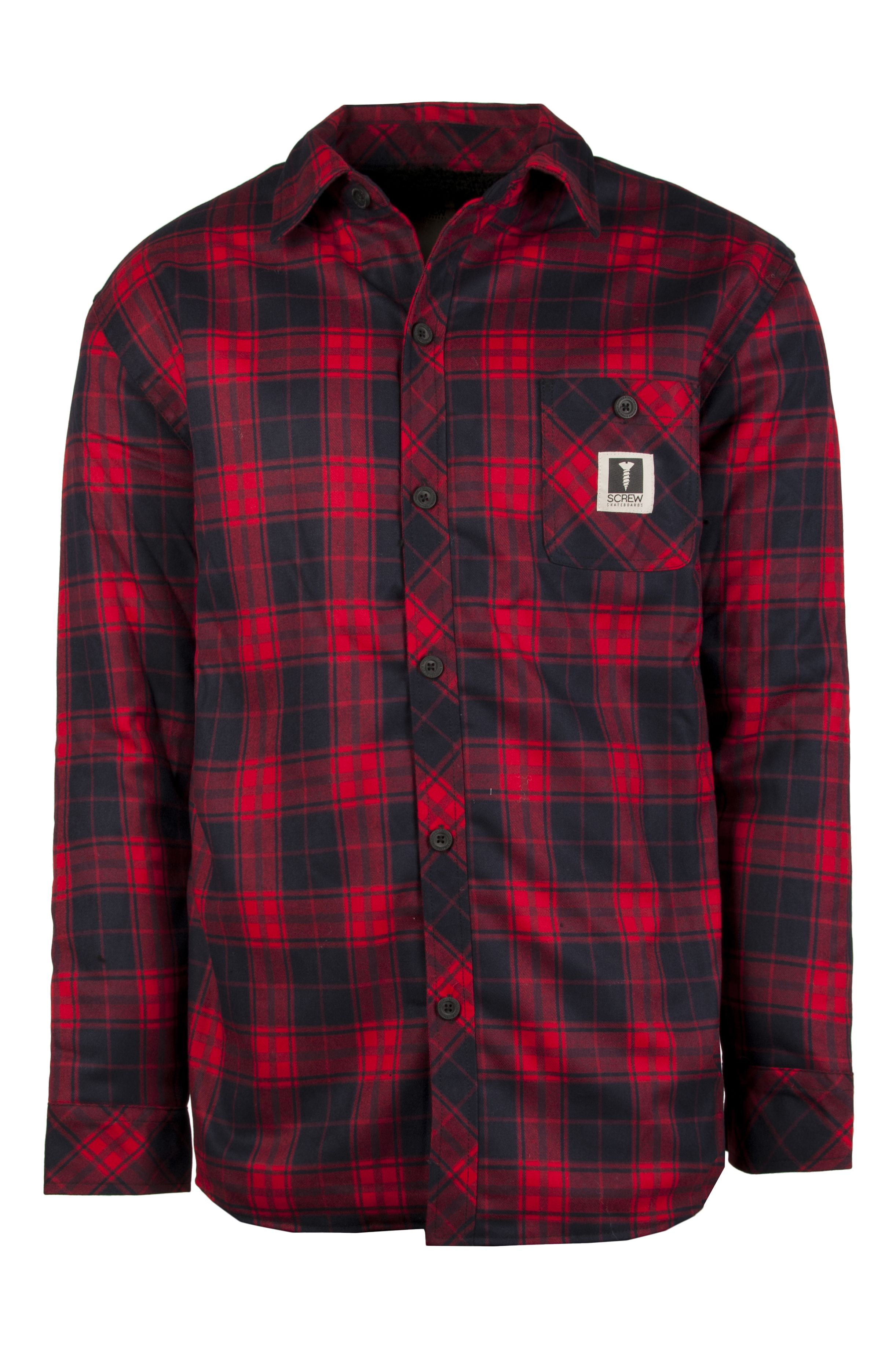 Screw Shirt BOWLS?21 Dark Red