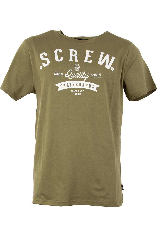 T-Shirt Screw LUNAR Green Moss