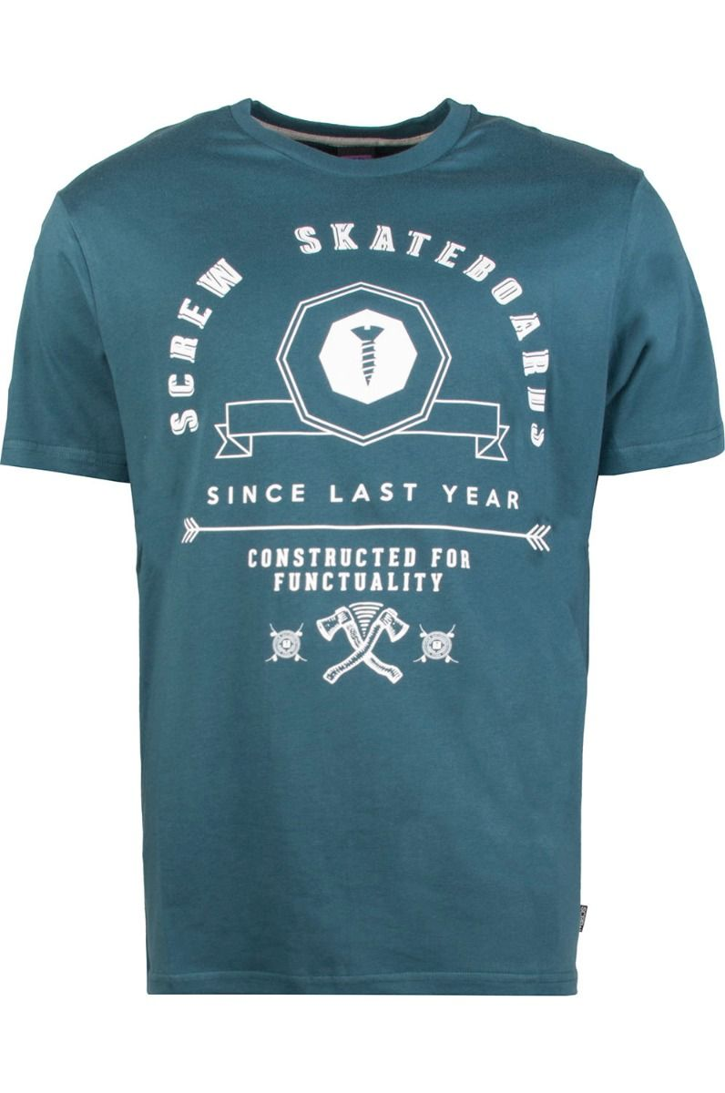 Screw T-Shirt SKATELAB Blue Atol