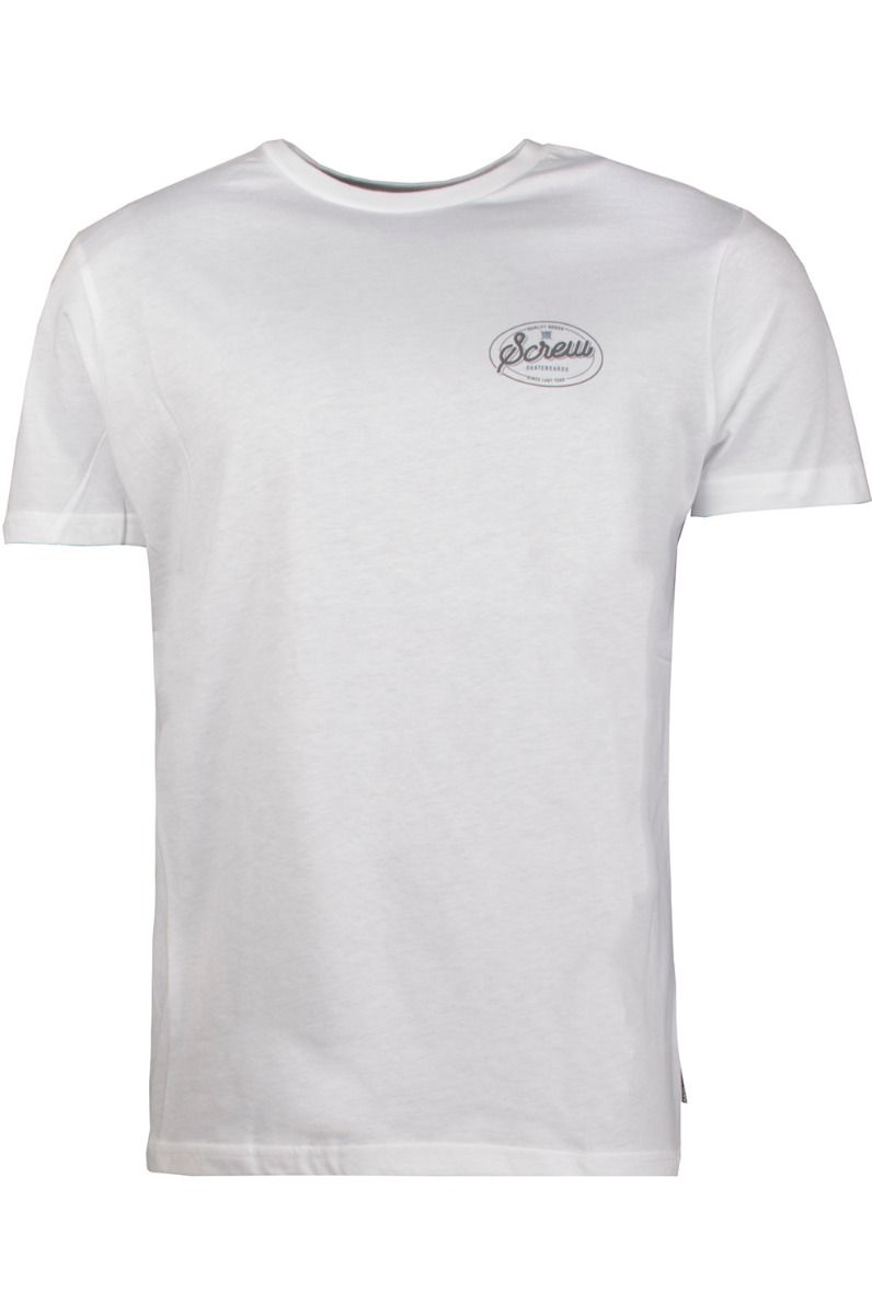 Screw T-Shirt STATION White