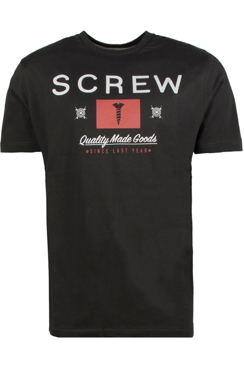 T-Shirt Screw POP Charcoal
