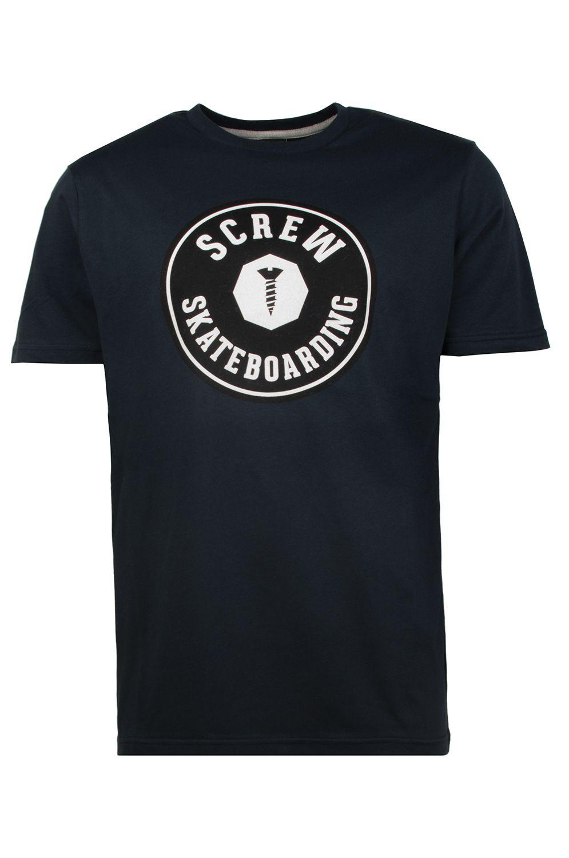 T-Shirt Screw TARGET LOGO Navy