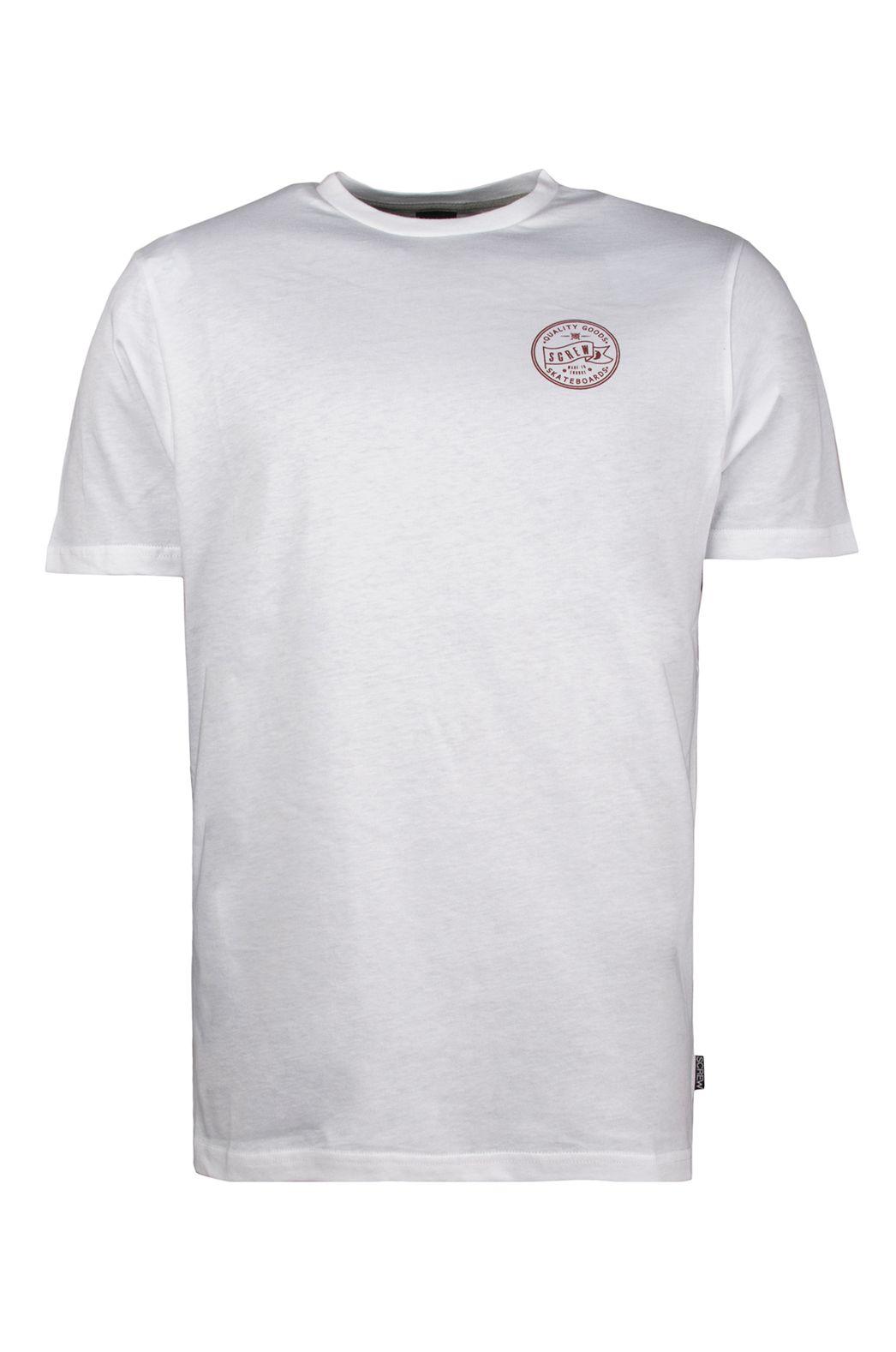 T-Shirt Screw SOUTH BANK White