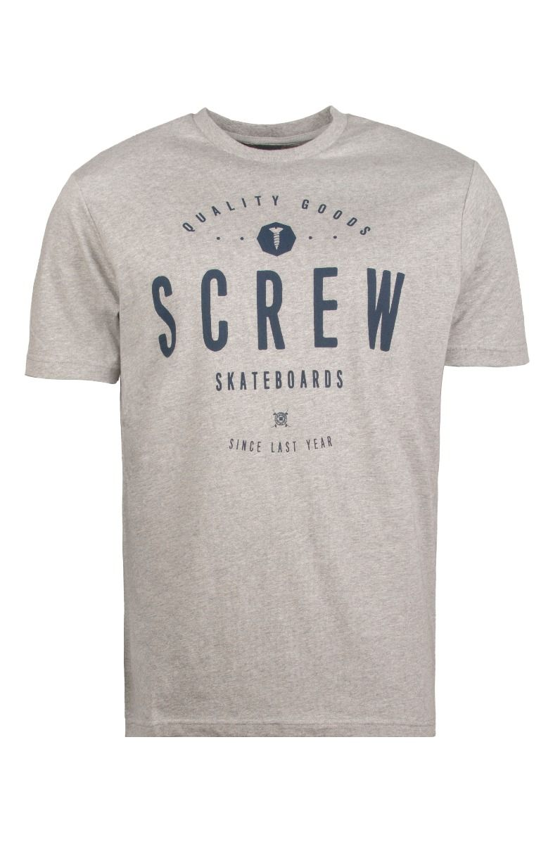 T-Shirt Screw RAMP CITY Grey Heather