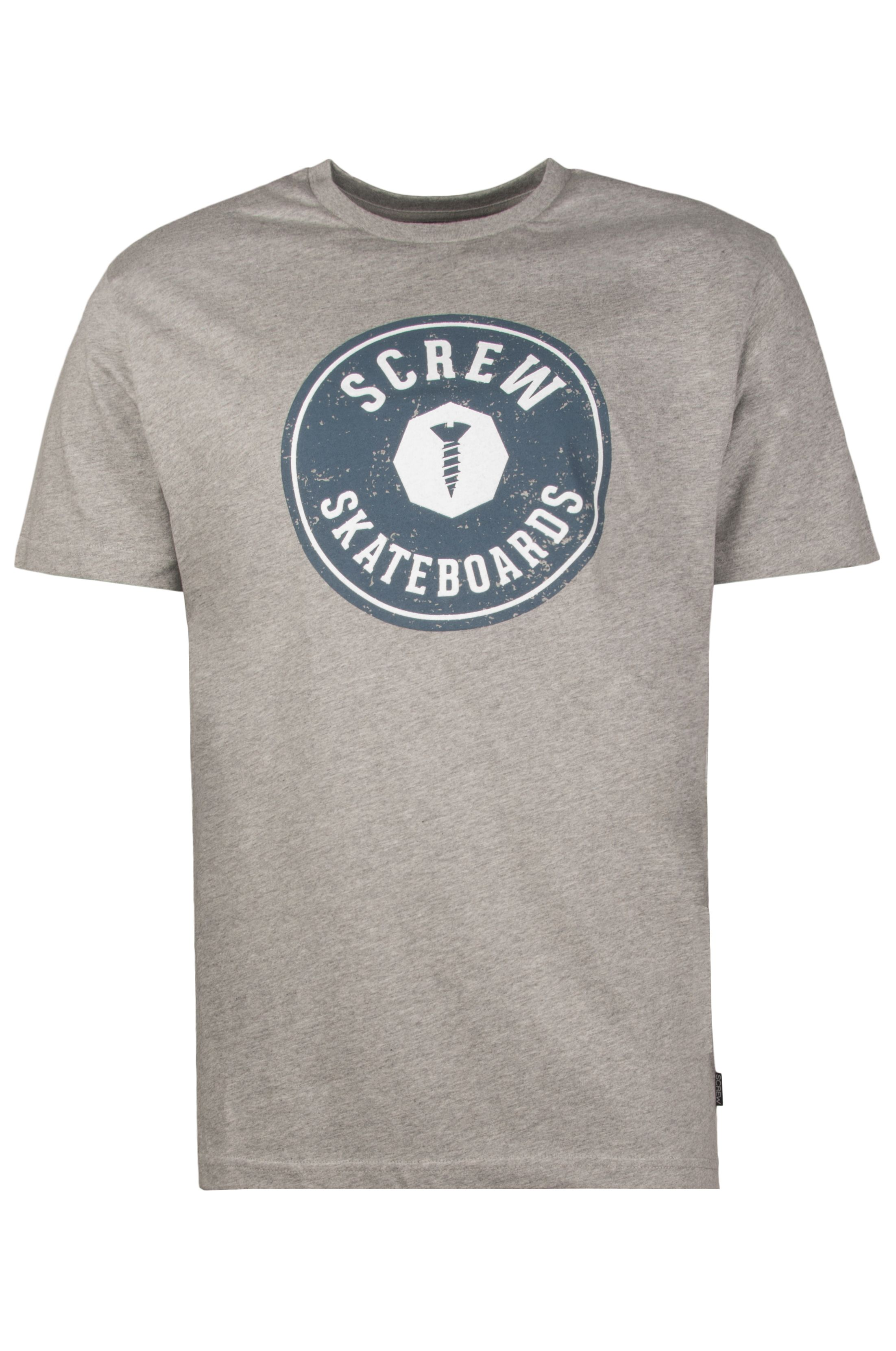 Screw T-Shirt TRANAS Heather Grey
