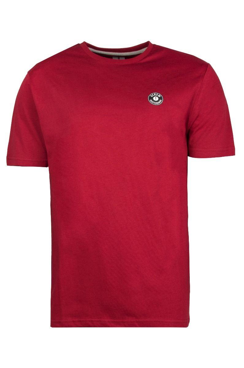 Screw T-Shirt SHOUT Dark Red