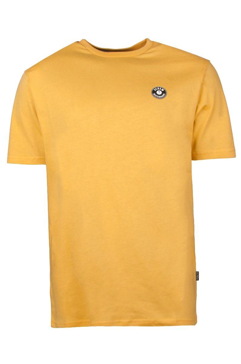 Screw T-Shirt SHOUT Ochre