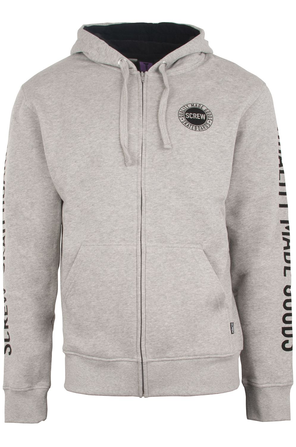 Sweat Fecho Screw COMPTOM Heather Grey