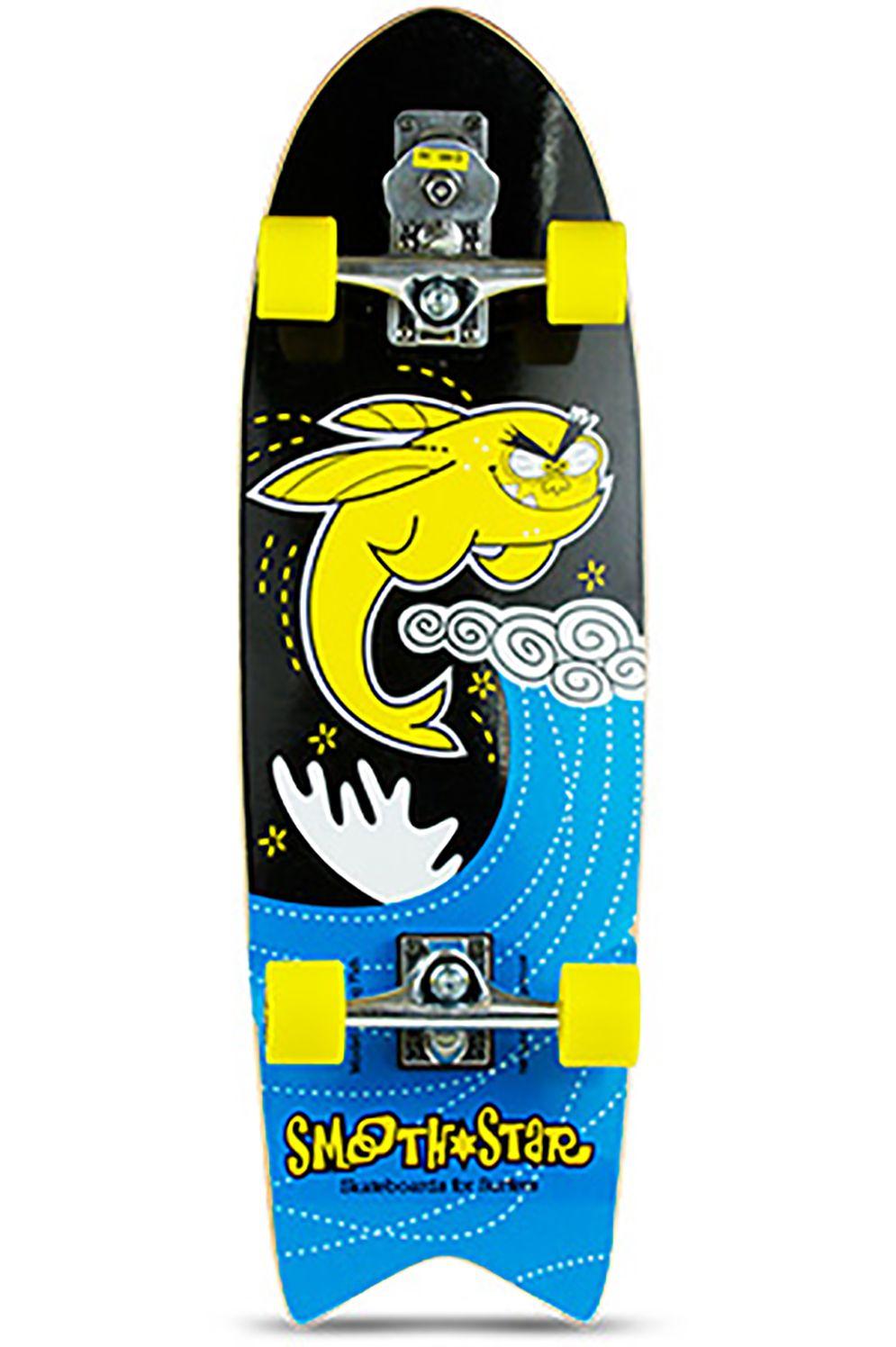 "Smoothstar Surf Skate 32"" FLYING FISH Yellow/Black"