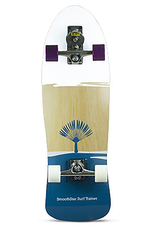 "Smoothstar Surf Skate 32.5"" JOHANNE DEFAY PRO MODEL White/Teal"