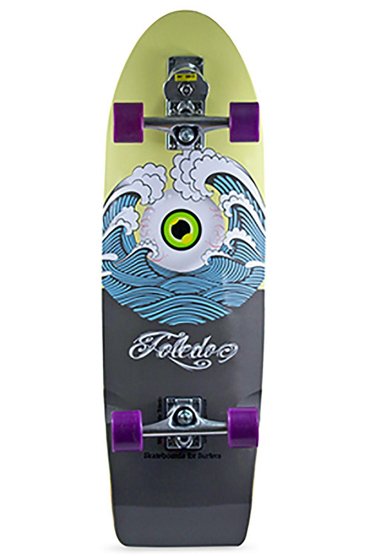 "Smoothstar Surf Skate 33"" HOLY TOLEDO Yellow/Grey"