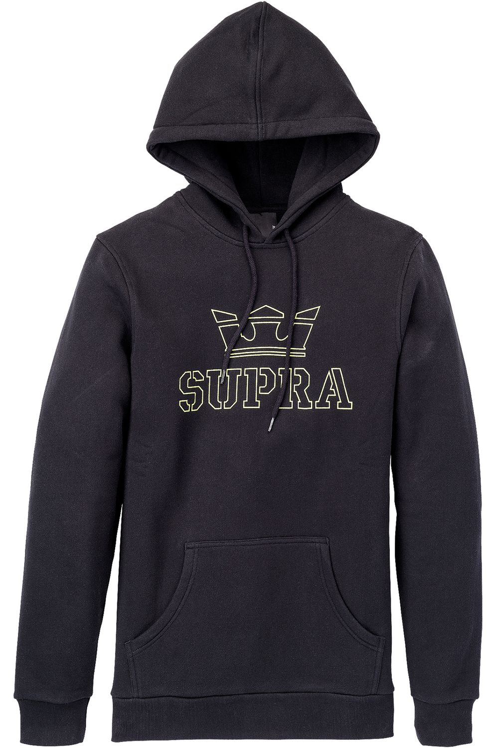 Supra Sweat Hood ABOVE Black/Hi Vis