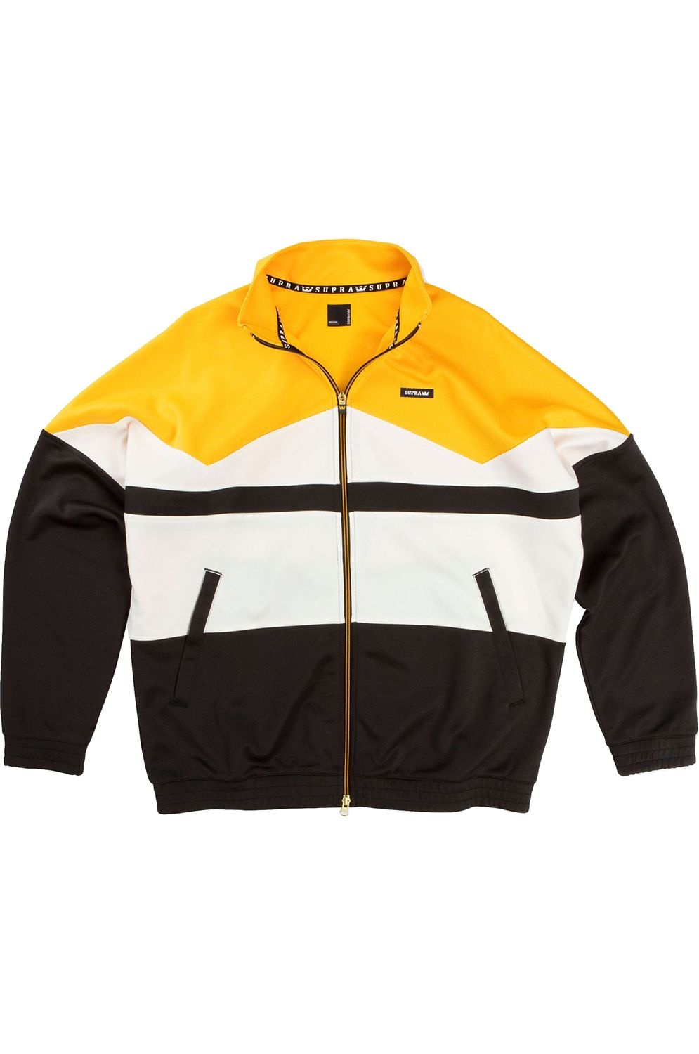 Track Jacket Supra INNENSTAD Caution/Bone/Black