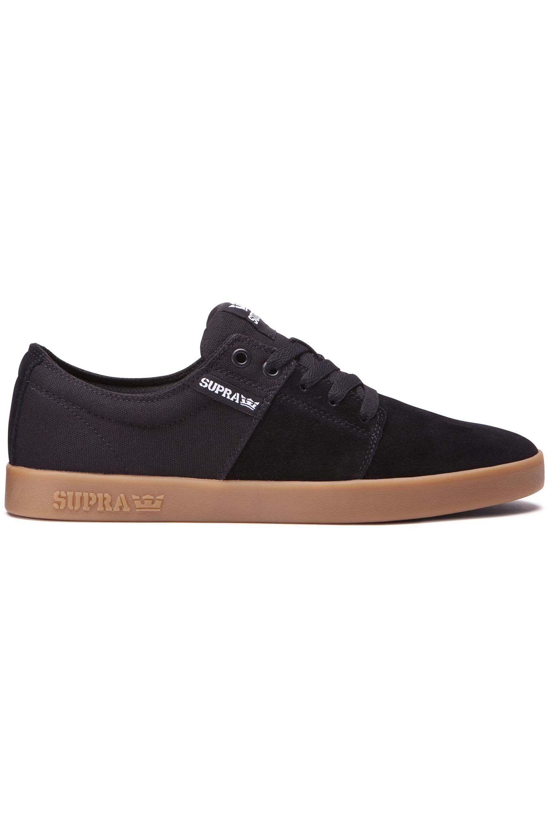 Tenis Supra STACKS II Black/Gum