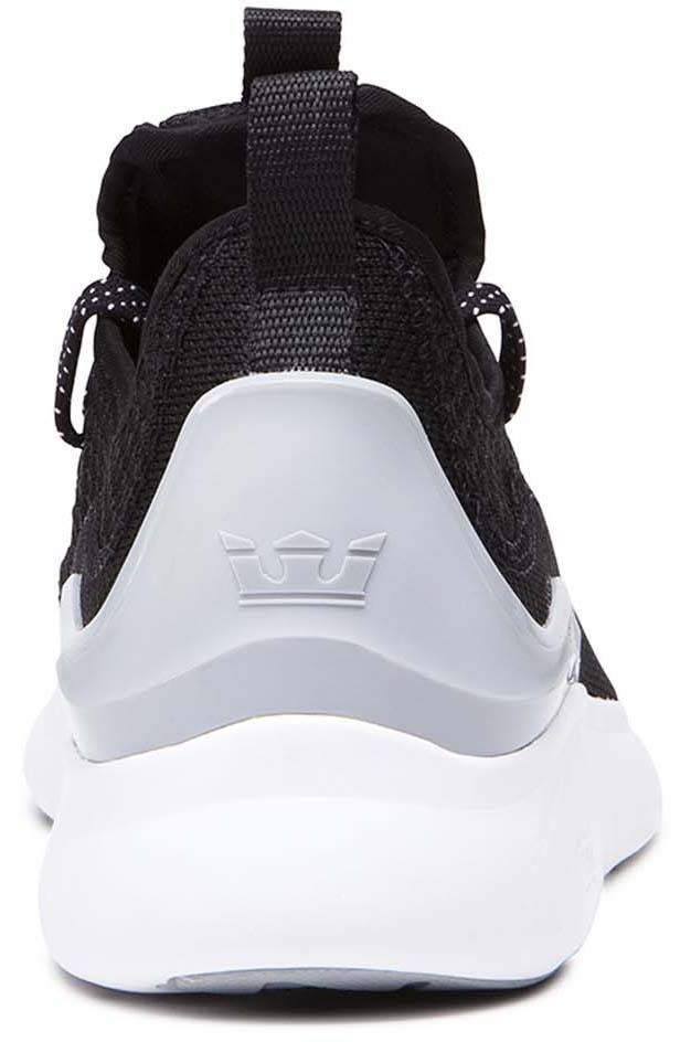 Supra Shoes FACTOR Black/Lt Grey/White