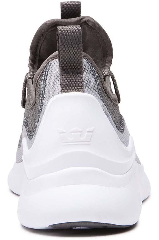 Supra Shoes FACTOR Lt Grey/Grey/White