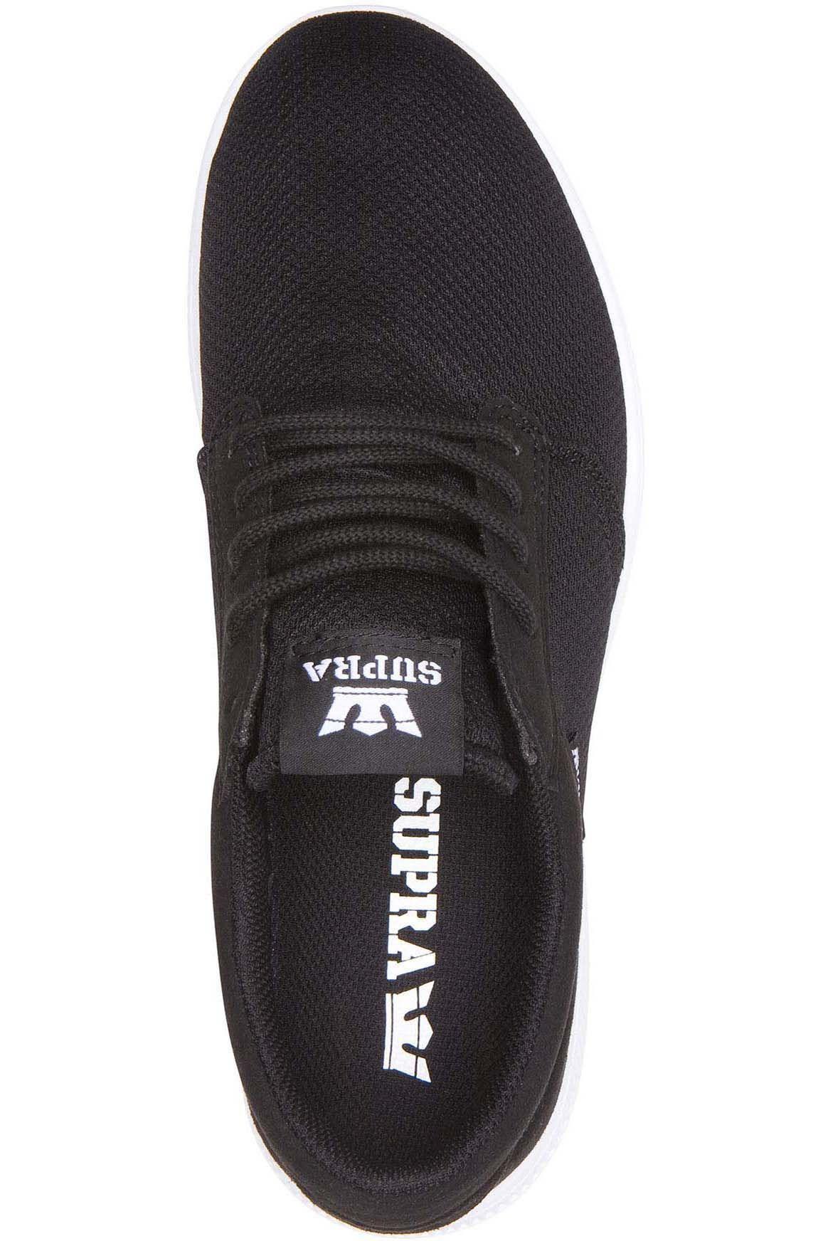Supra Shoes HAMMER RUN Black/White/White