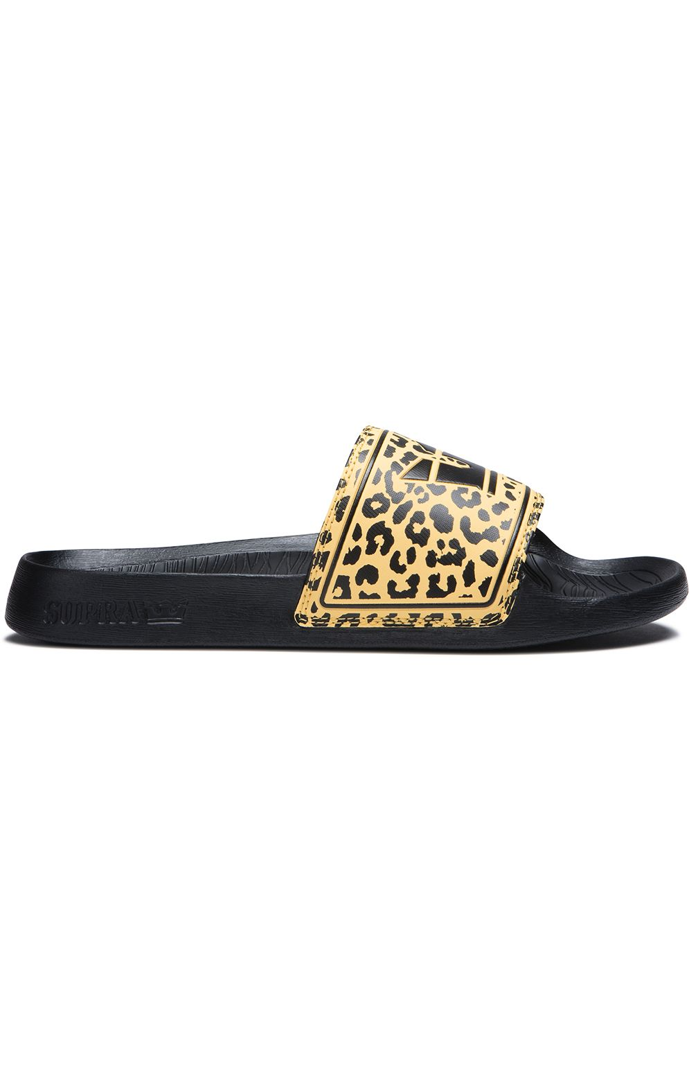 Supra Sandals LOCKUP Animal/Black