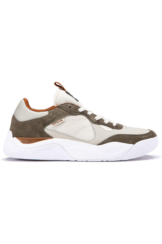 Supra Shoes PECOS Olive/Stone/White