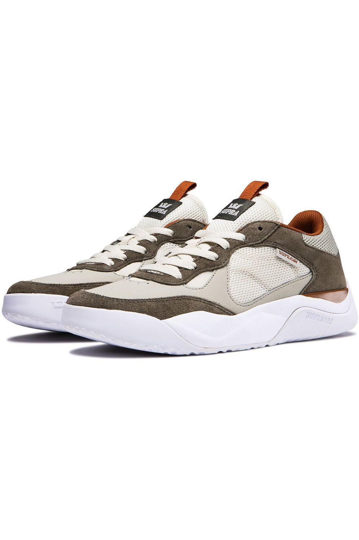 Tenis Supra PECOS Olive/Stone/White