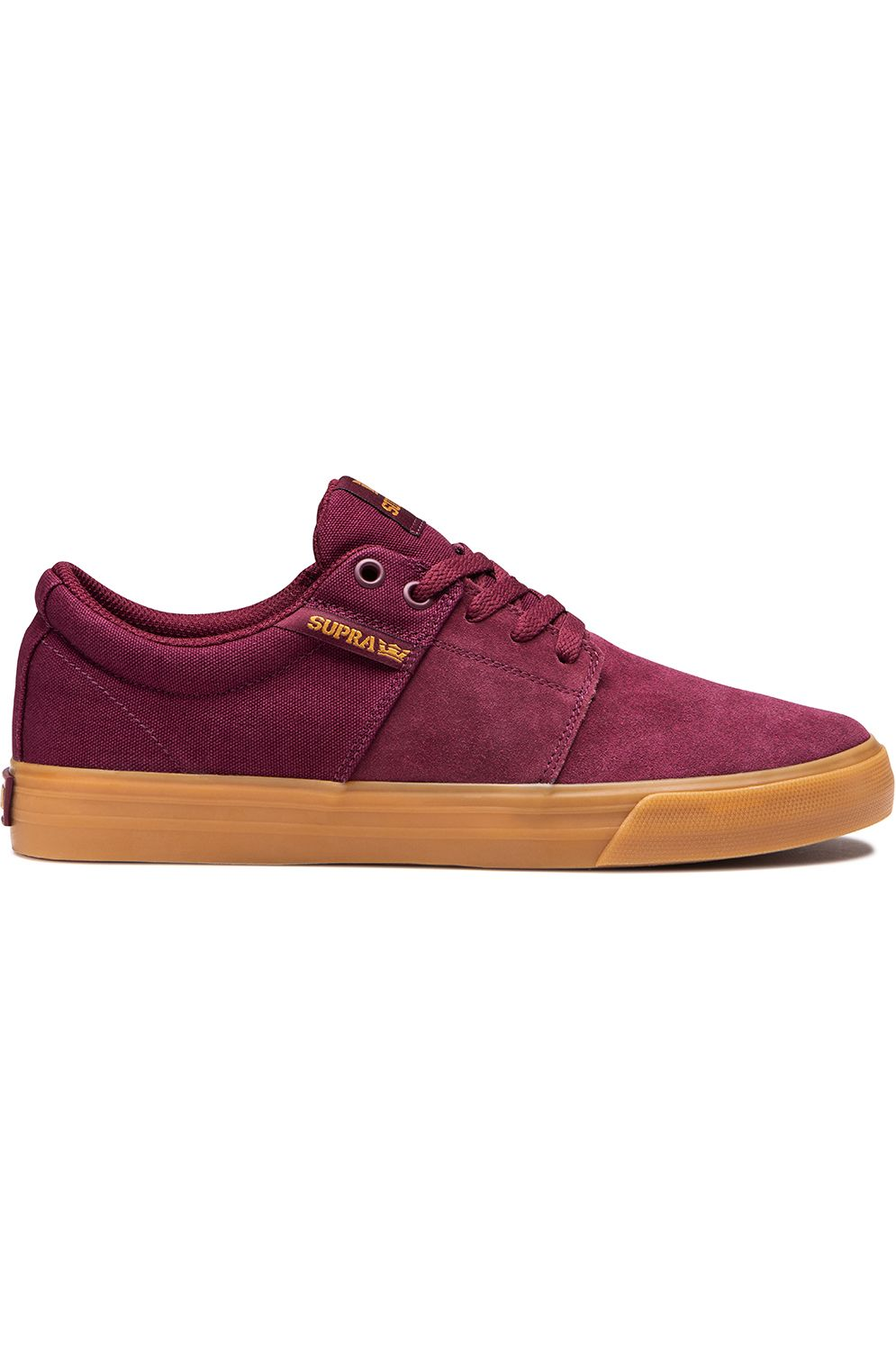 Supra Shoes STACKS VULC II Wine/Tan/Lt Gum