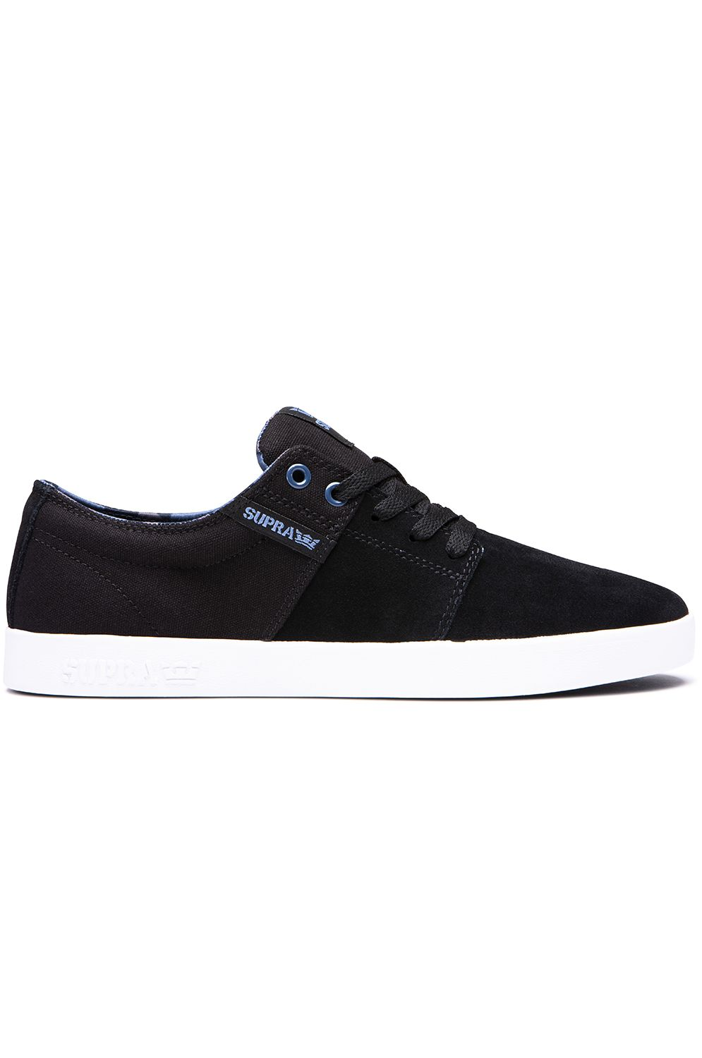 Supra Shoes STACKS II Black/Bering/White