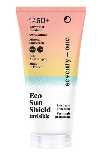 Prot.Solar Seventy One Percent ECO SUN SHIELD - INVISIBLE ? SPF50+ Invisible