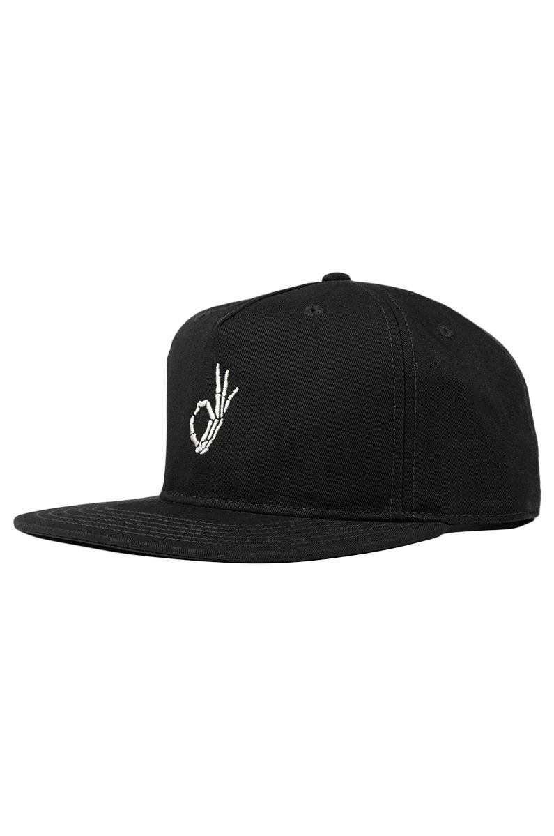 The Dudes Cap   OKAY Black
