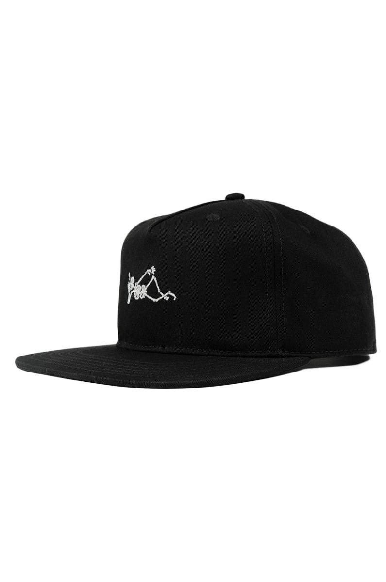 The Dudes Cap   SMOKIN Black