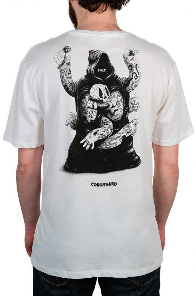 T-Shirt The Dudes CORONNARD Off-White