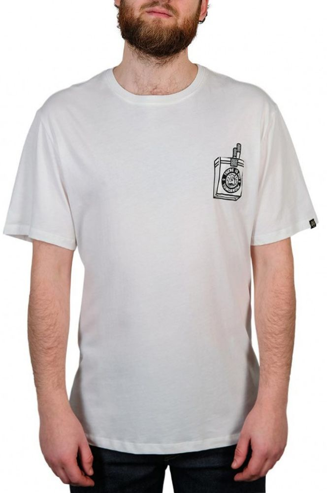 T-Shirt The Dudes TOO SHORT SMOKES Off-White