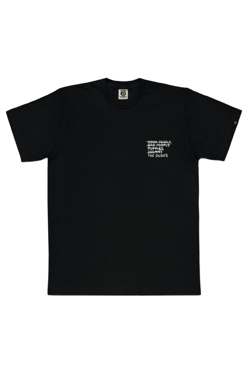 T-Shirt The Dudes NOBODY'S SAFE Black